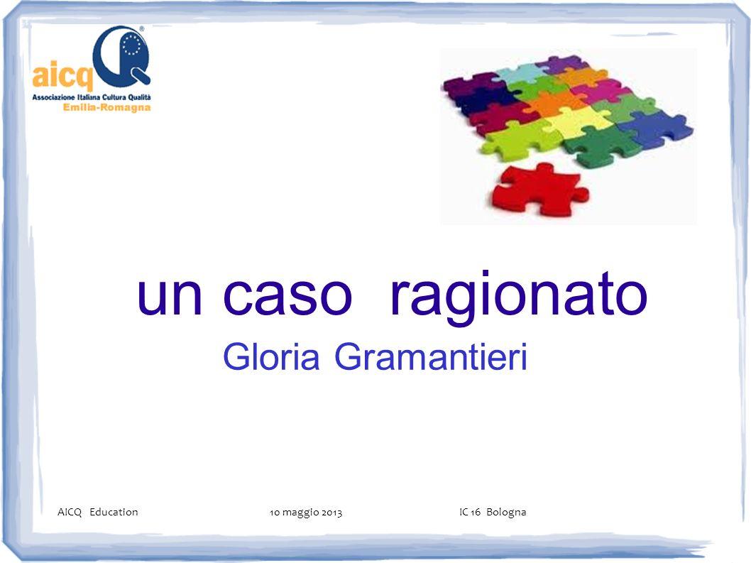 un caso ragionato Gloria Gramantieri 1