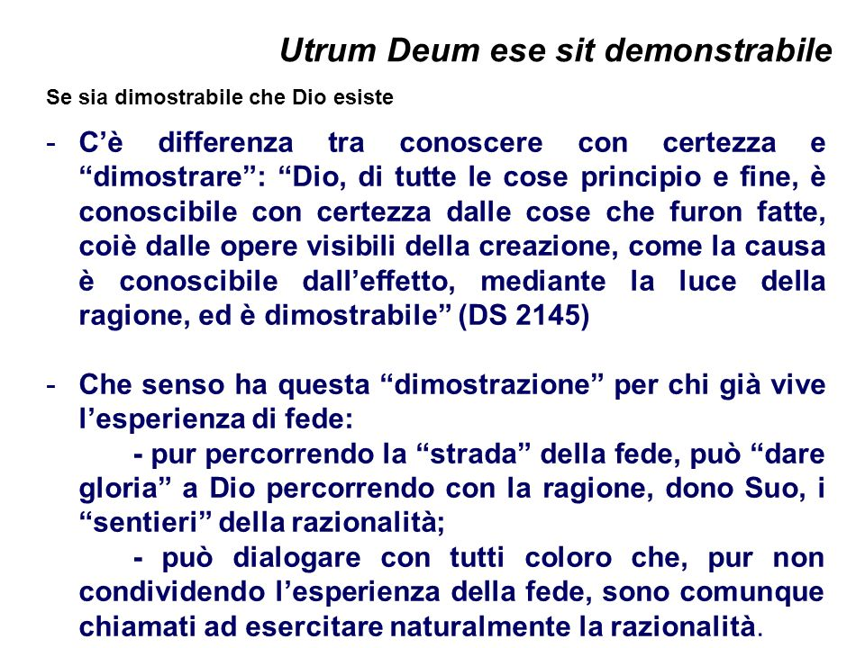 Utrum Deum ese sit demonstrabile