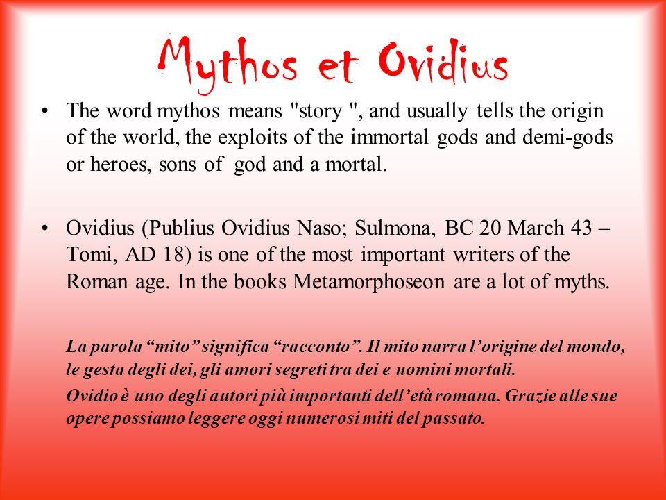 Mythos et Ovidius
