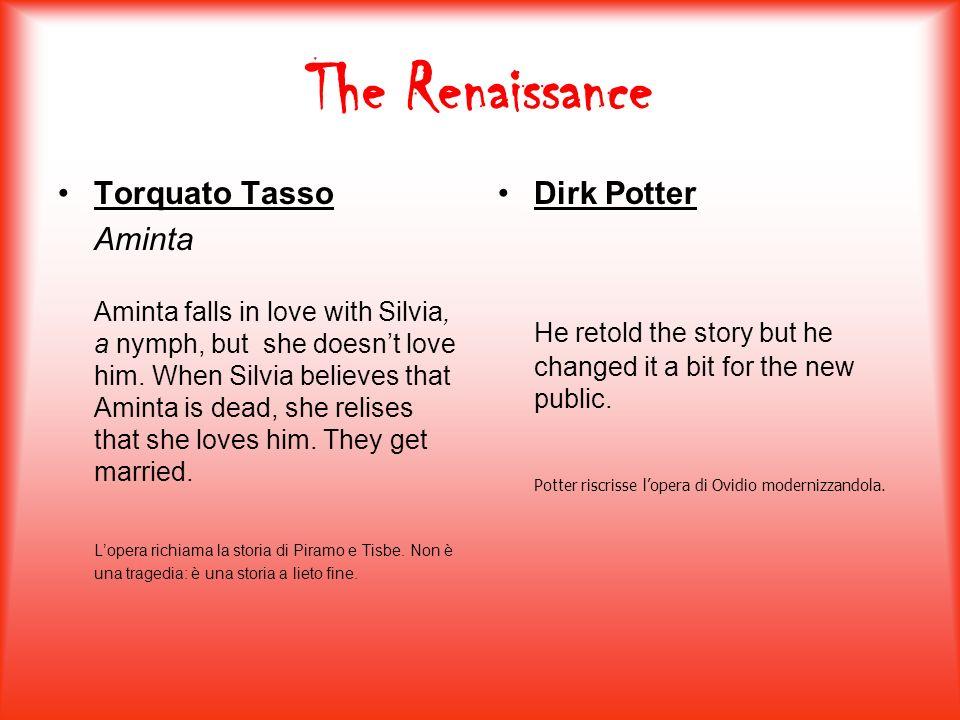 The Renaissance Torquato Tasso Aminta