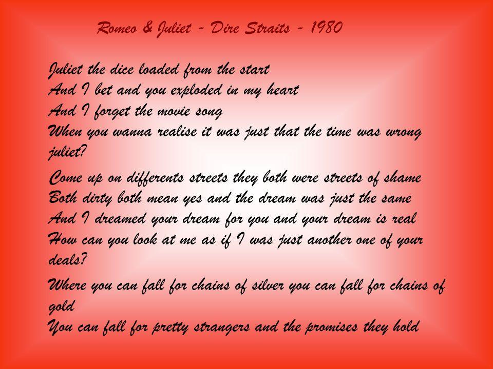 Romeo & Juliet - Dire Straits - 1980