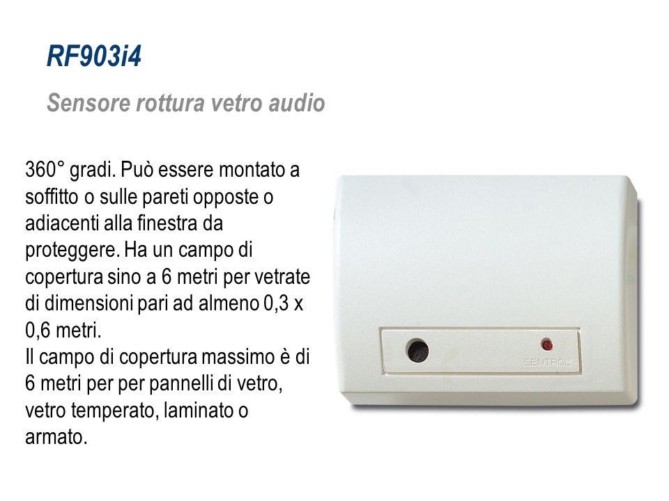 RF903i4 Sensore rottura vetro audio