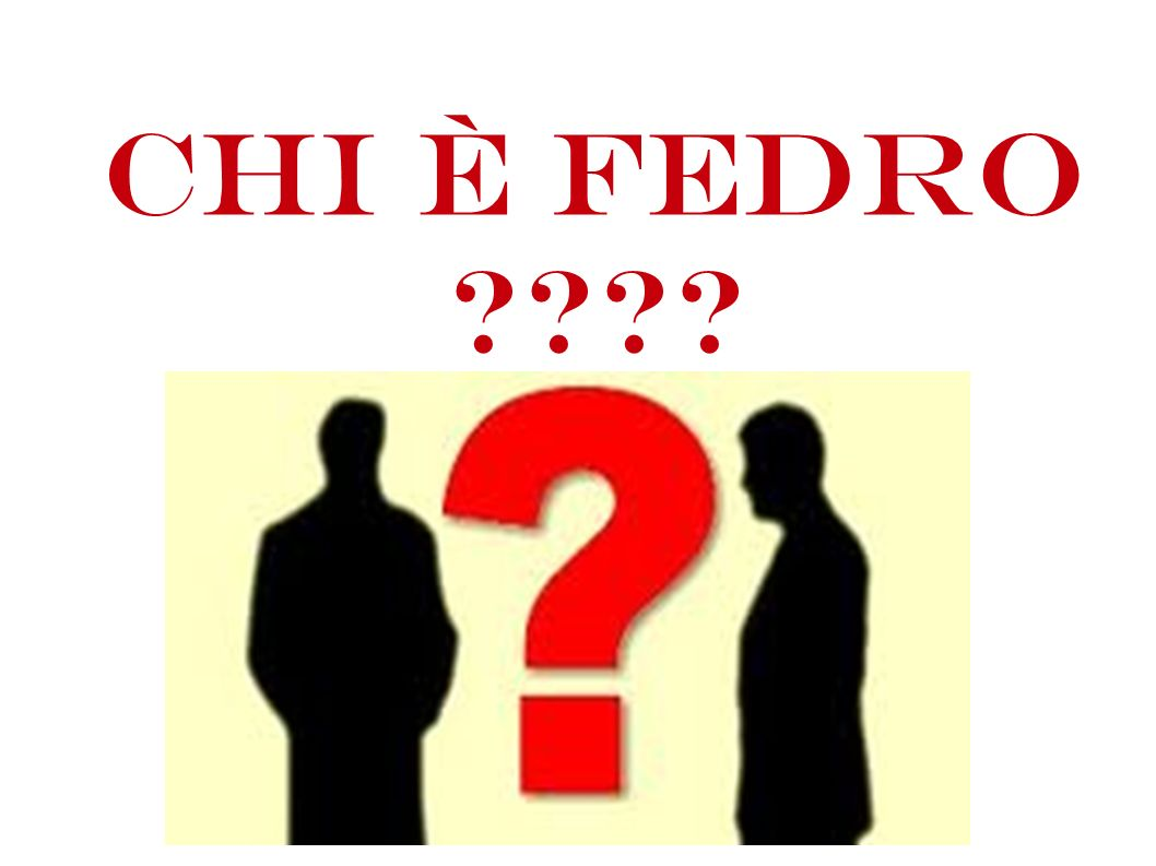 Chi è Fedro