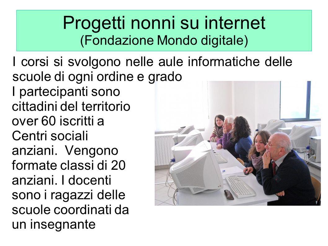 Progetti nonni su internet (Fondazione Mondo digitale)