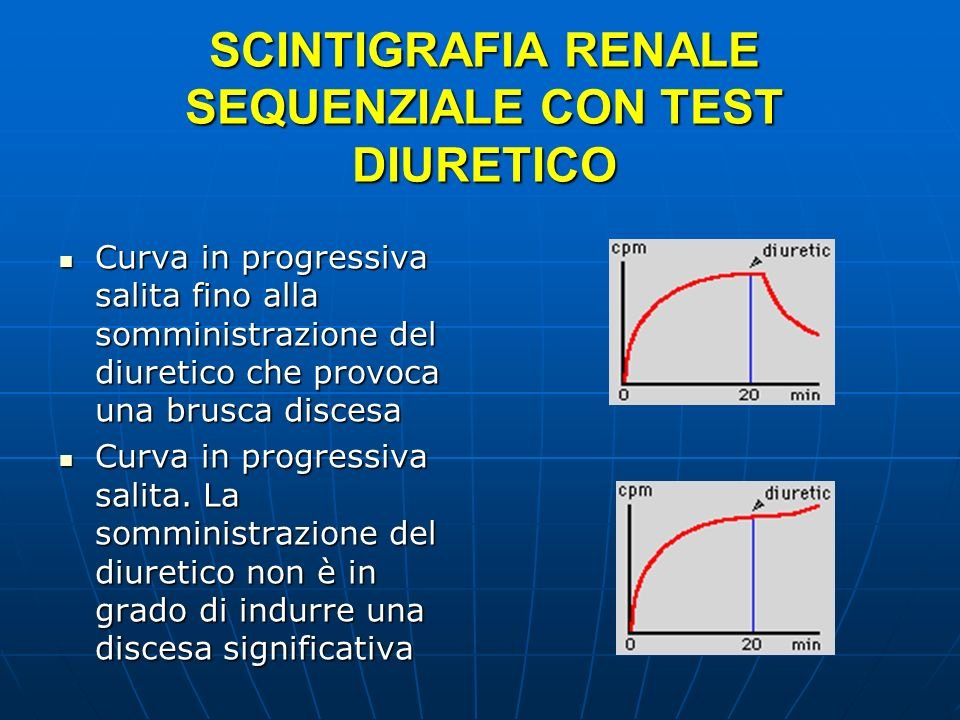 SCINTIGRAFIA RENALE SEQUENZIALE CON TEST DIURETICO