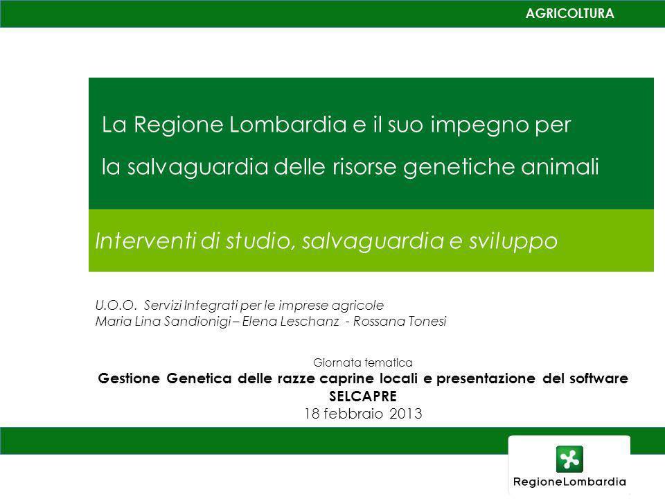 La Regione Lombardia e il suo impegno per