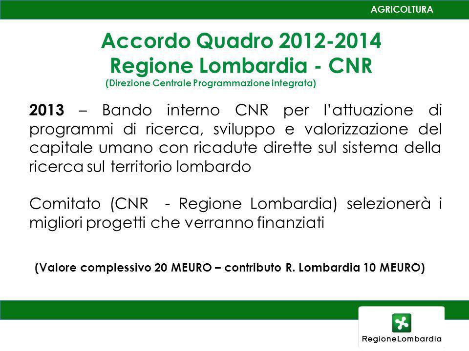 Regione Lombardia - CNR