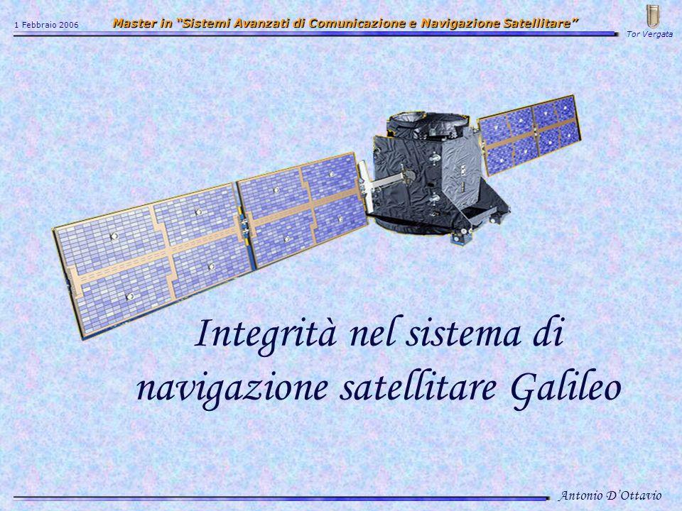 Integrità nel sistema di navigazione satellitare Galileo