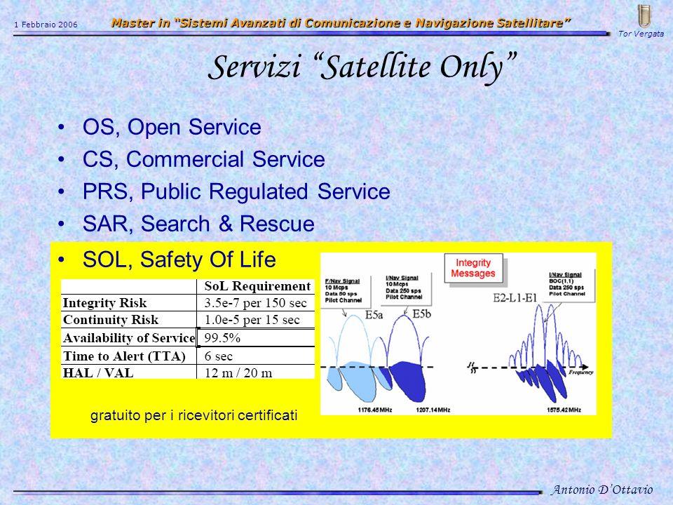 Servizi Satellite Only
