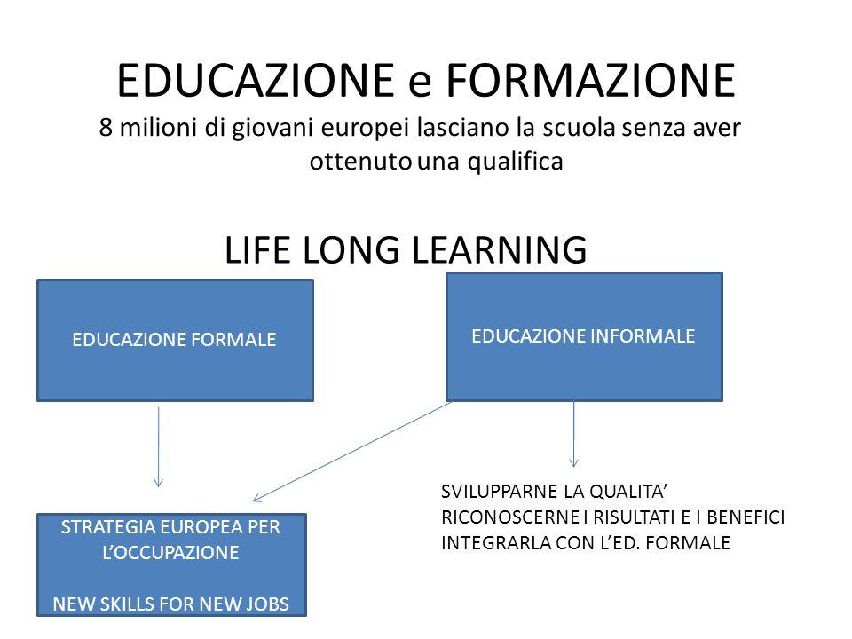 EDUCAZIONE e FORMAZIONE