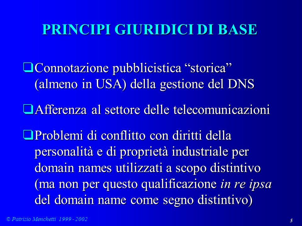 PRINCIPI GIURIDICI DI BASE