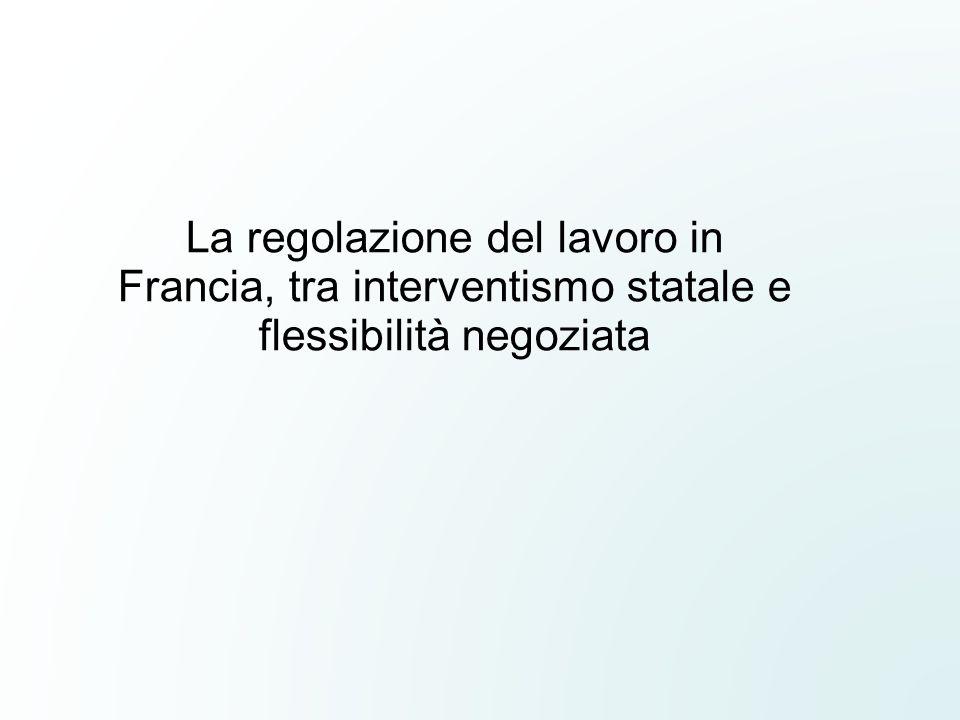 La regolazione del lavoro in Francia, tra interventismo statale e flessibilità negoziata