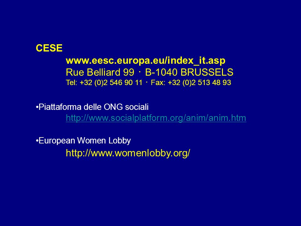 Rue Belliard 99 ・ B-1040 BRUSSELS