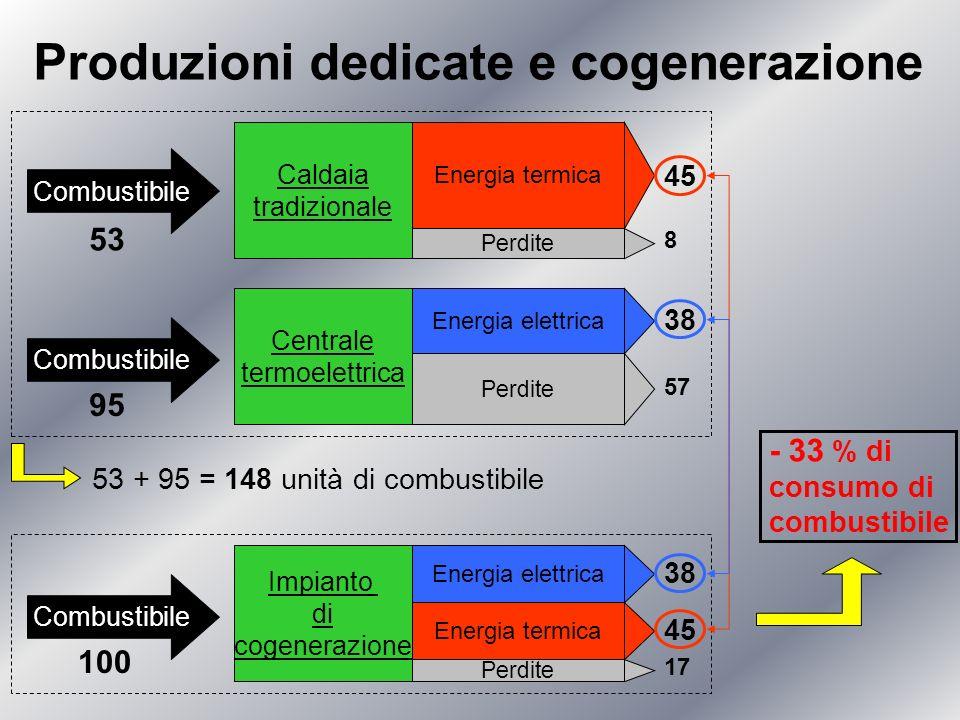 Produzioni dedicate e cogenerazione