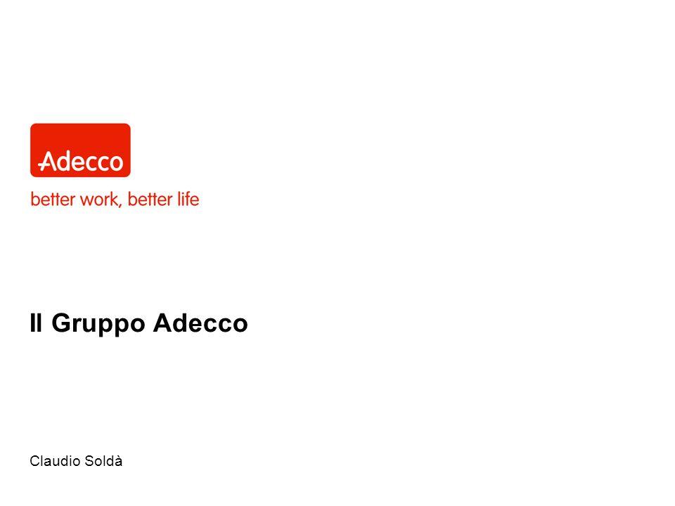 Il Gruppo Adecco Claudio Soldà Main title page