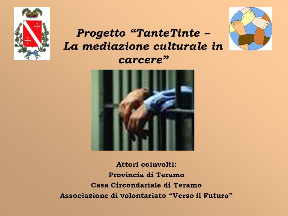 Progetto TanteTinte – La mediazione culturale in carcere