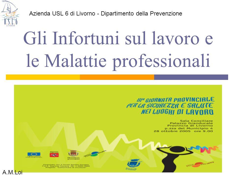 Gli Infortuni sul lavoro e le Malattie professionali