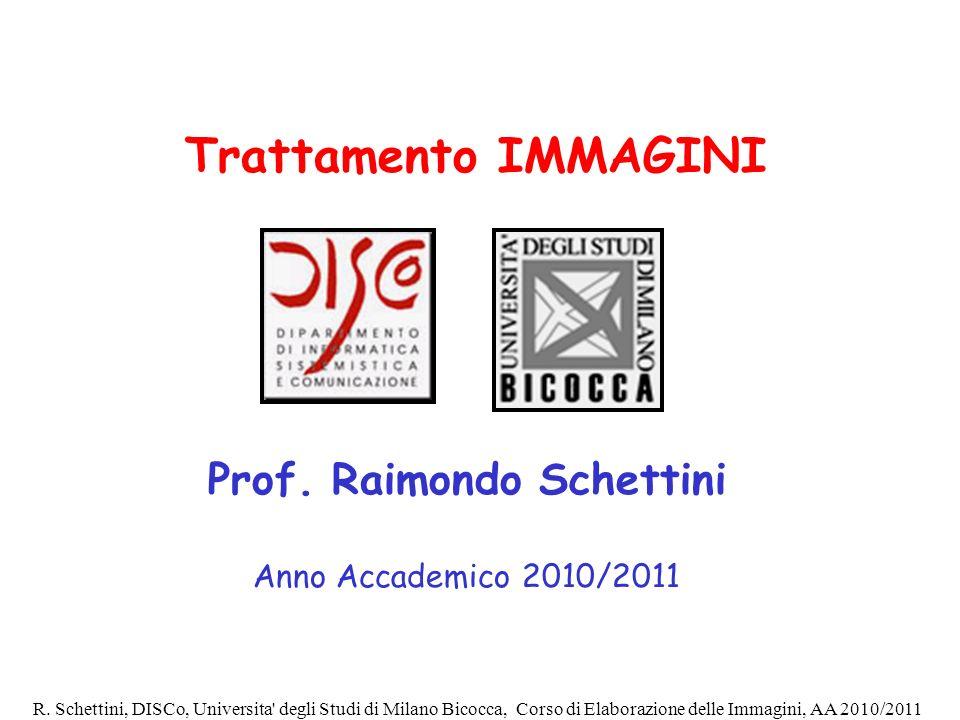 Prof. Raimondo Schettini