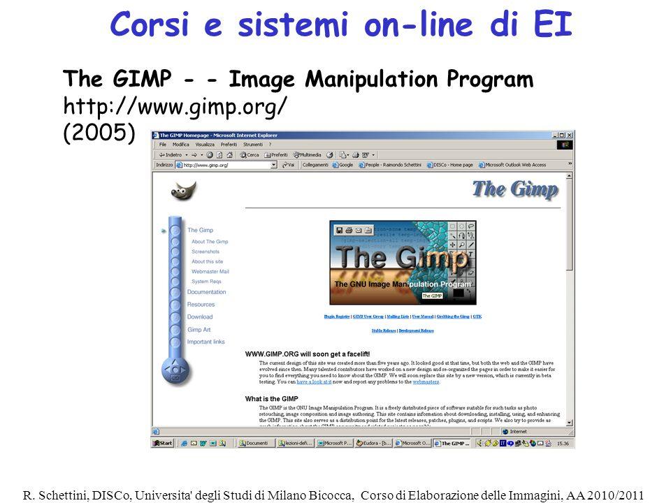 Corsi e sistemi on-line di EI
