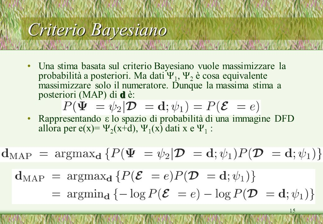 Criterio Bayesiano