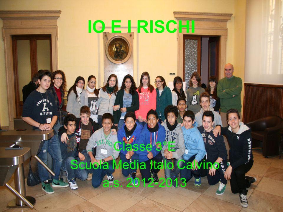 Classe 3°E Scuola Media Italo Calvino a.s. 2012-2013