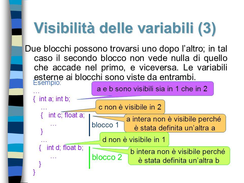 Visibilità delle variabili (3)