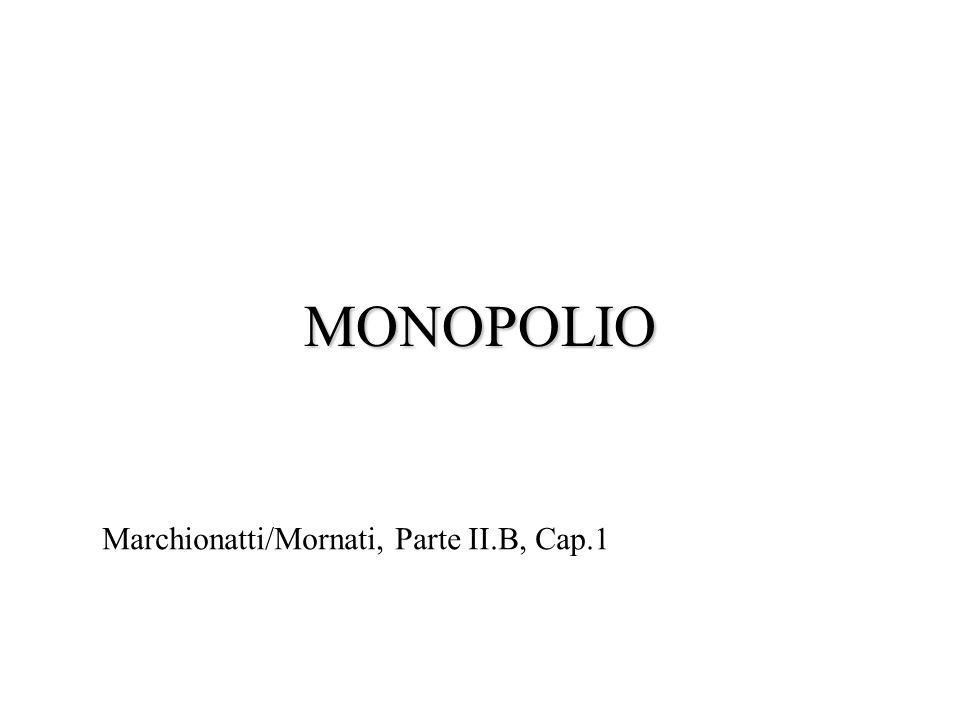 MONOPOLIO Marchionatti/Mornati, Parte II.B, Cap.1 1 1 1 1