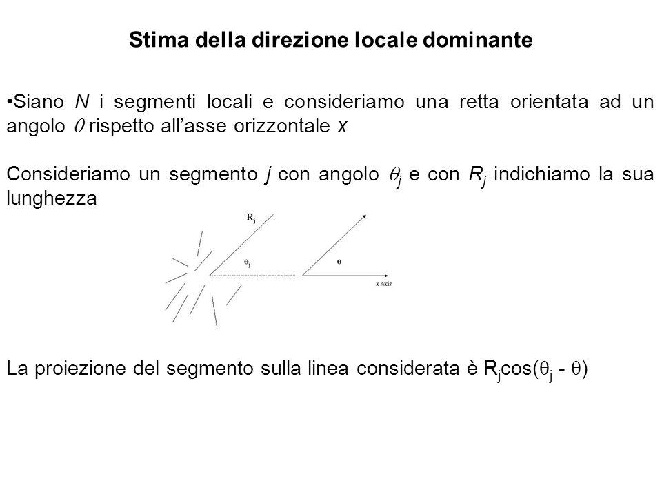 Stima della direzione locale dominante