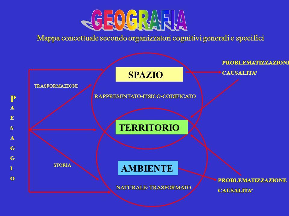 GEOGRAFIA SPAZIO PA TERRITORIO AMBIENTE