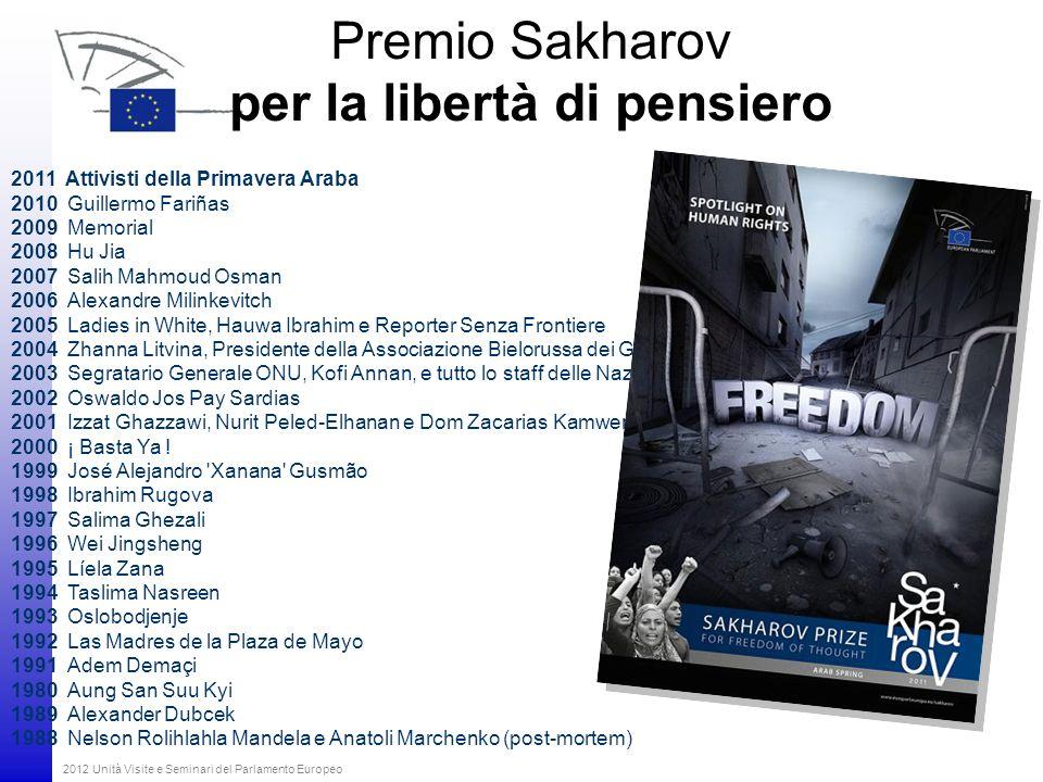 Premio Sakharov per la libertà di pensiero