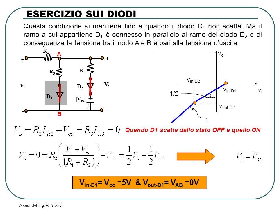 Vin-D1= Vcc =5V & Vout-D1= VAB =0V