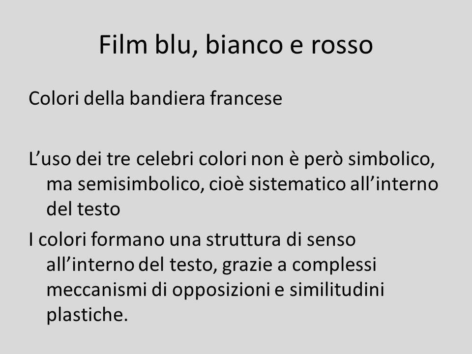 Film blu, bianco e rosso Colori della bandiera francese