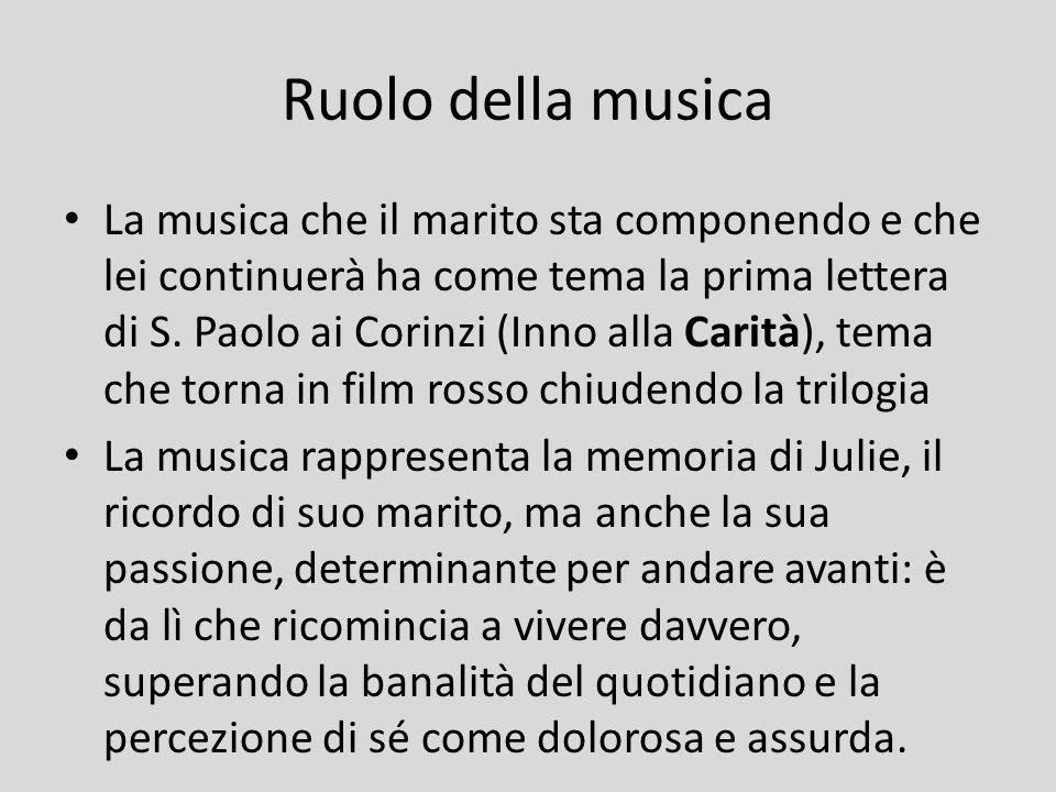 Ruolo della musica