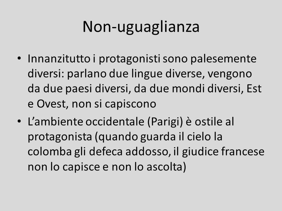 Non-uguaglianza
