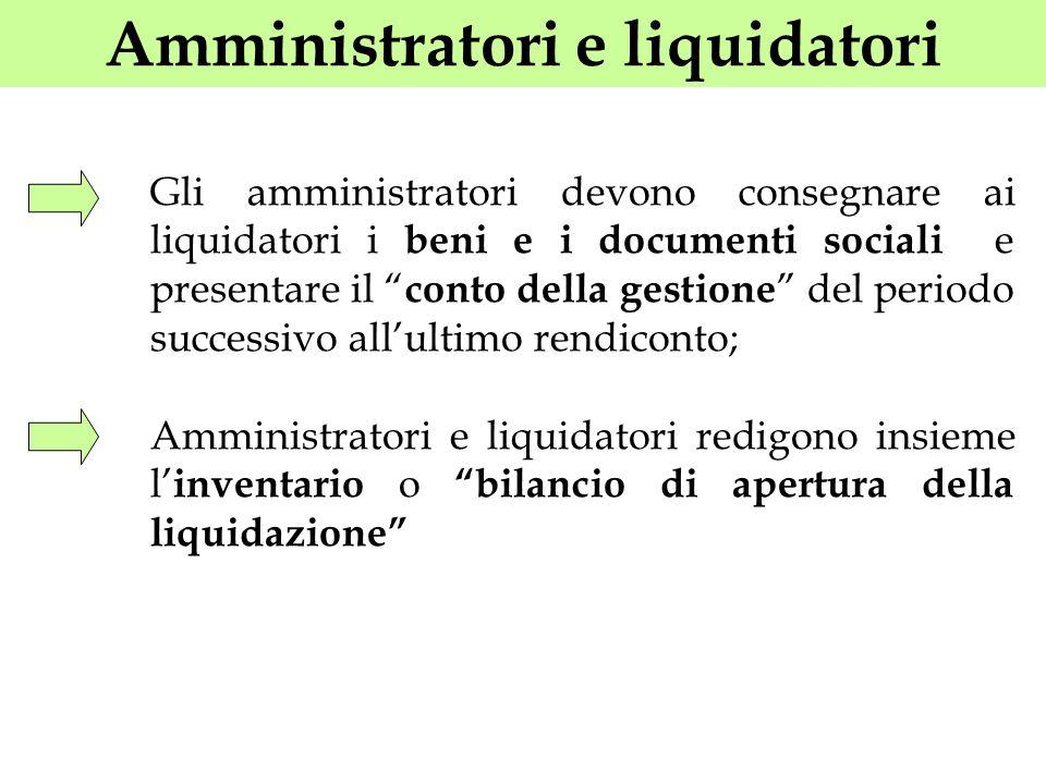 Amministratori e liquidatori
