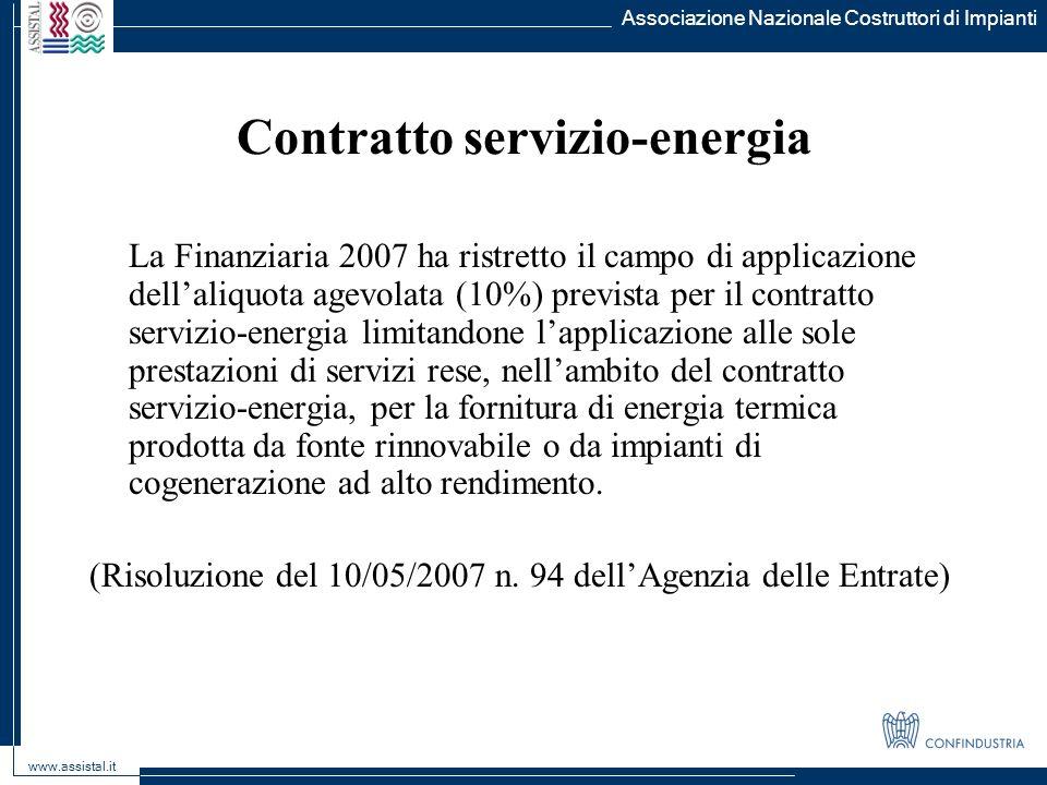 Contratto servizio-energia