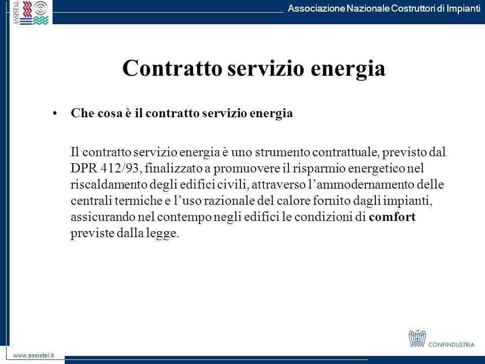 Contratto servizio energia