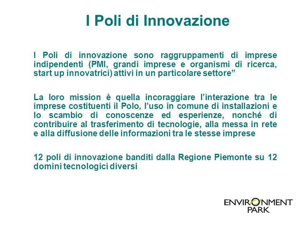 I Poli di Innovazione