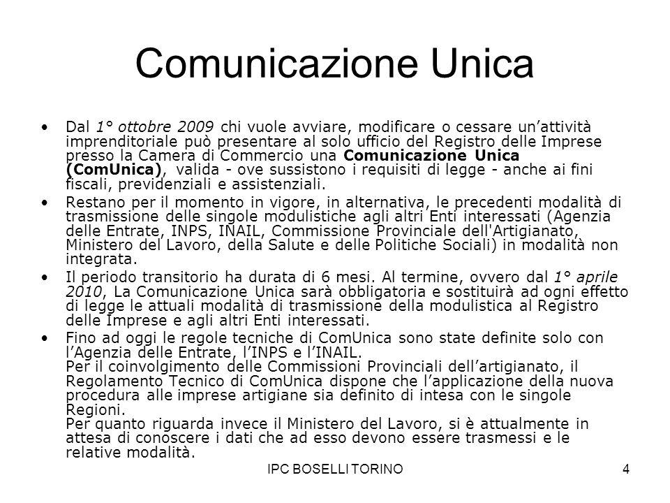 Comunicazione Unica