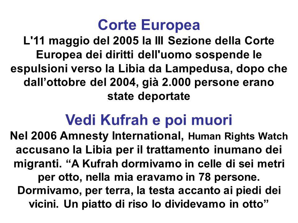 Corte Europea Vedi Kufrah e poi muori