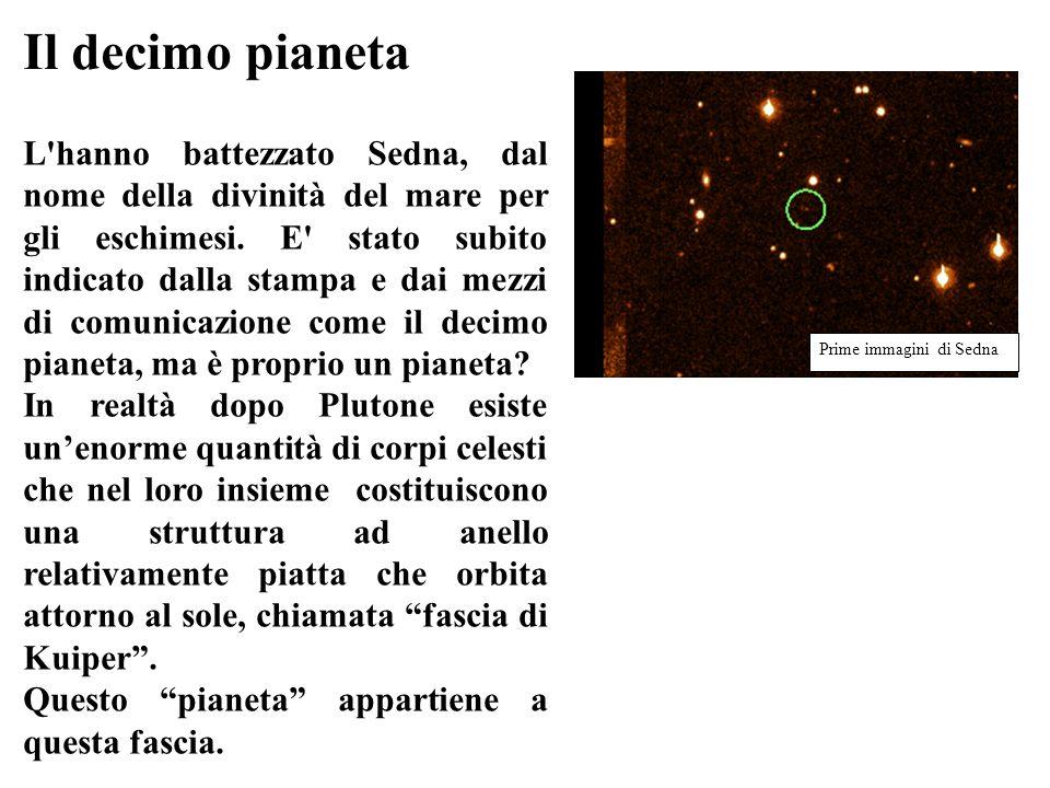 Il decimo pianeta Prime immagini di Sedna.