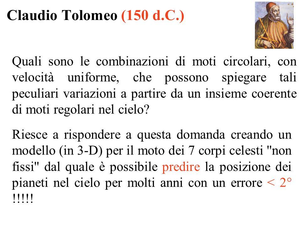 Claudio Tolomeo (150 d.C.)