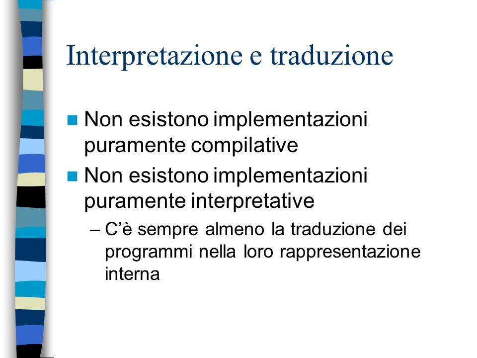 Interpretazione e traduzione