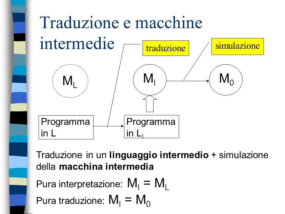 Traduzione e macchine intermedie
