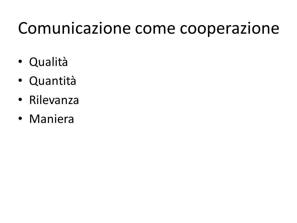 Comunicazione come cooperazione