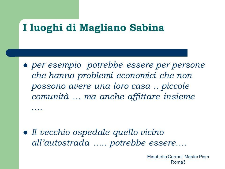 I luoghi di Magliano Sabina