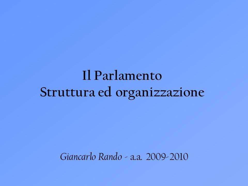 Struttura ed organizzazione