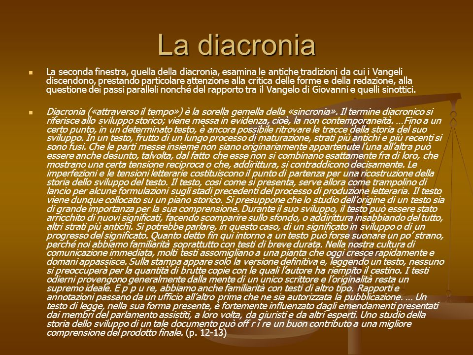 La diacronia