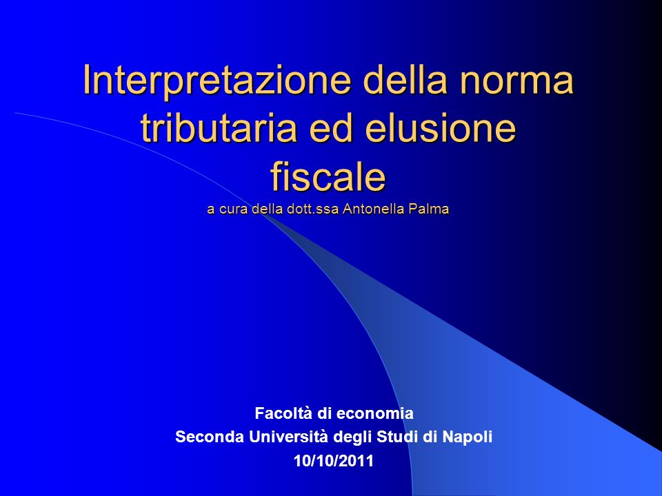 Seconda Università degli Studi di Napoli