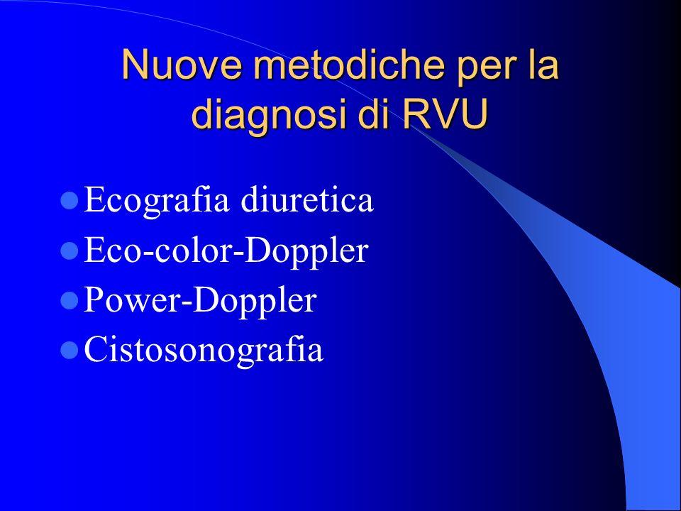 Nuove metodiche per la diagnosi di RVU